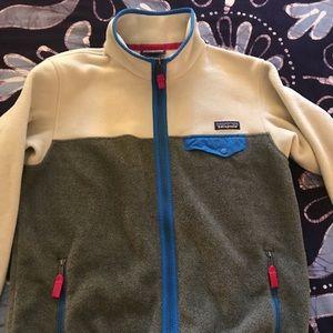 Patagonia Cream Zip-up Jacket